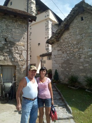 L'ultimo abitante di Arnosto con Aurora Cantini