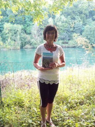 Aurora Cantini al Rotary Club Isola Bergamasca con il libro Una tra i Mille,per Anita