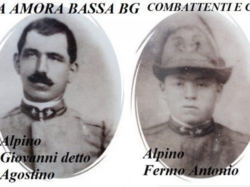 Combattenti e Caduti bergamaschi, la storia dei fratelli Carrara