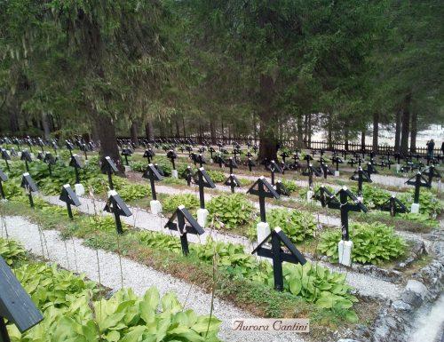 Il piccolo cimitero austriaco di Sorgenti dove riposano soldati non austriaci