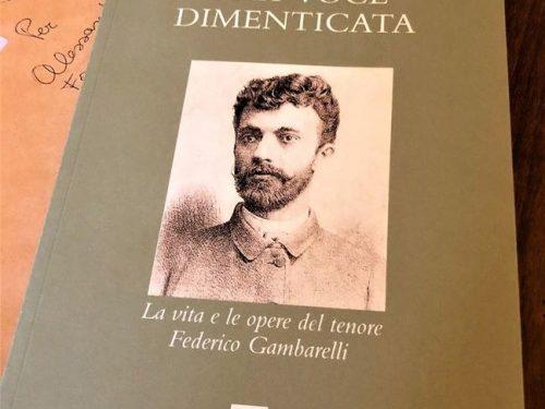 Il libro sul tenore bergamasco Federico Gambarelli letto da Alessandra Facchinetti