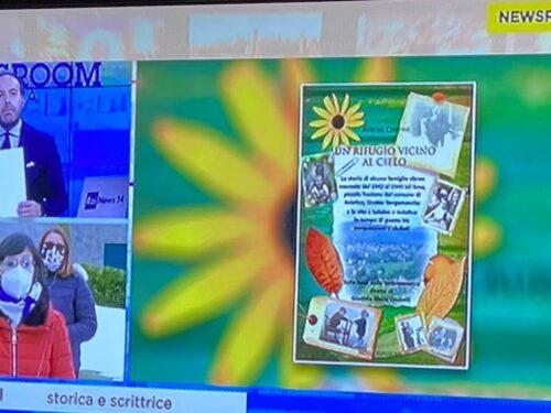 """Rai News24 racconta il libro """"Un rifugio vicino al cielo"""" per la Giornata della Memoria 2021"""