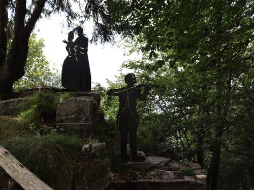 Il Salto degli Sposi, dal 1871 in Presolana una storia d'amore senza fine