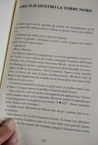 """Pagina 131 del libro """"Come briciole sparse sul mondo"""""""