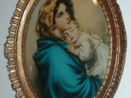 La vera storia del quadro della Madonnina del Riposo